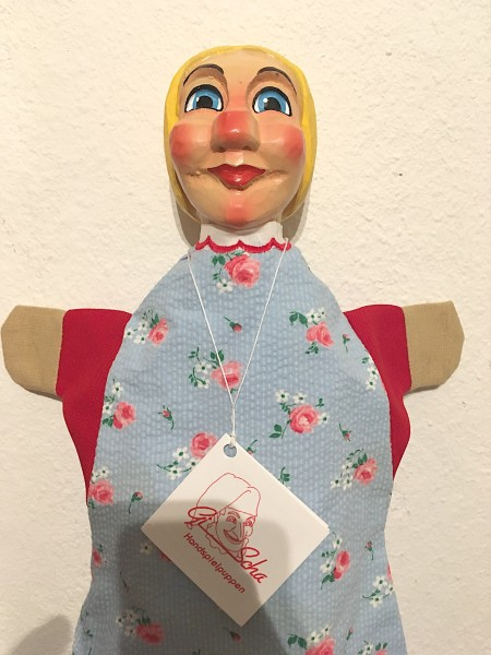 GiScha Kasperlefigur Gretel 35cm