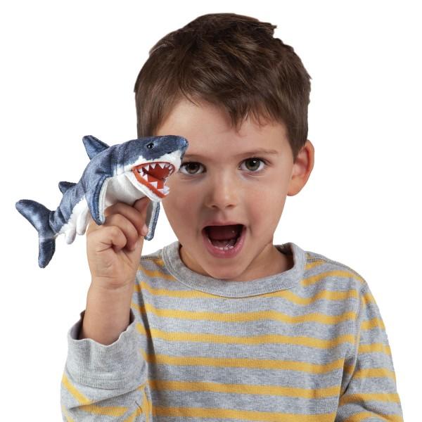 Folkmanis Fingerpuppe Mini Hai- / Mini Shark