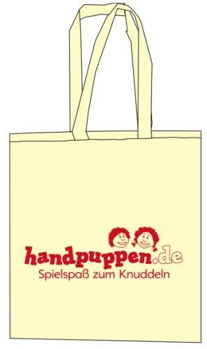 Baumwolltasche mit handpuppen.de Logo