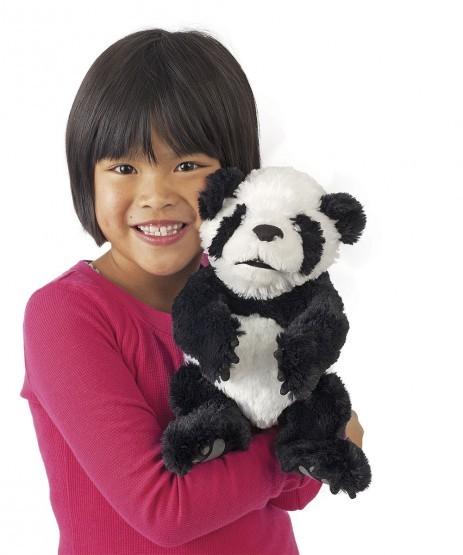 Folkmanis Handpuppe Baby Panda
