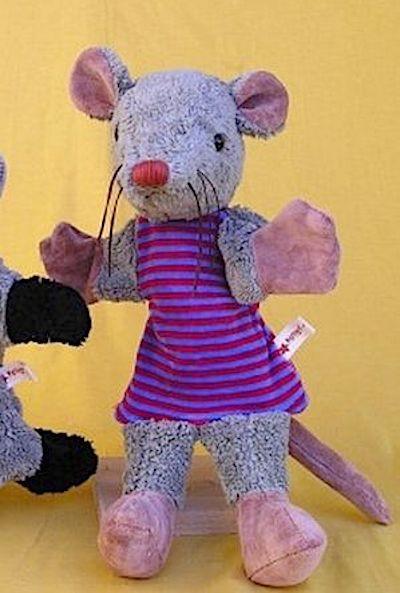 Handpuppe Ratte von Kallisto