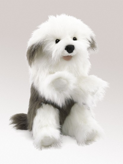 Folkmanis Handpuppe Bobtail Hund