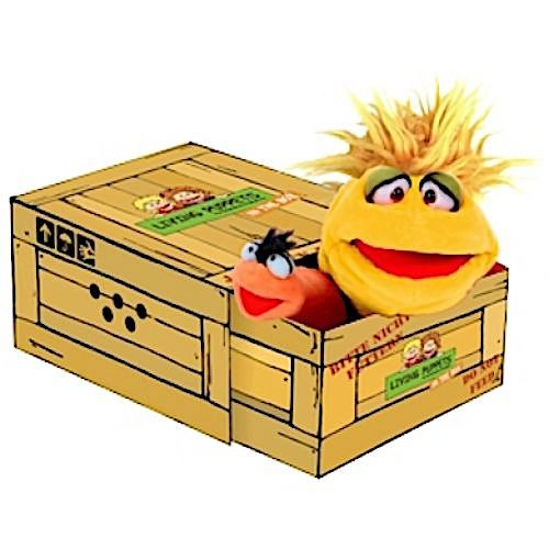 Living Puppets Handpuppe Little Yellow der Box