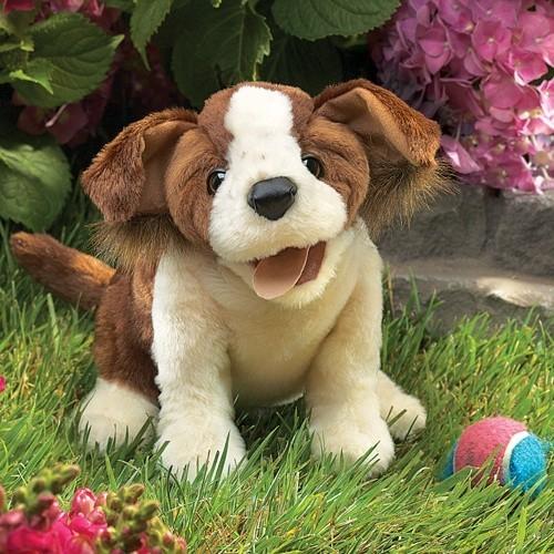 Folkmanis Handpuppe frecher Mischlingshund