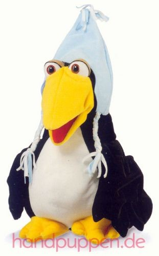Living Puppets Pius der Pinguin